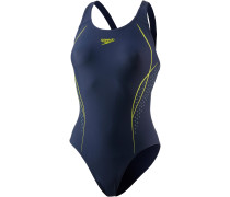 Start Shift Schwimmanzug Damen, navy/lime punch/spearmint