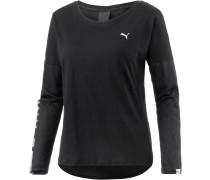 Style Rebel Langarmshirt Damen, schwarz
