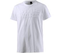 Star Wars T-Shirt Herren, weiß
