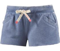 Hot Pants Damen, blau