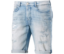 Cornell Jeansshorts Herren, blau