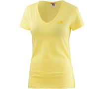 Simple Dome T-Shirt Damen, gelb