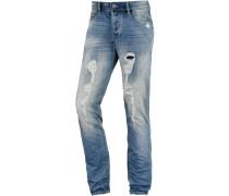 Leo Slim Fit Jeans Herren, blau