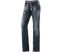 Yoki Straight Fit Jeans Damen, blau