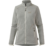 Caribou Altis Strickfleece Damen, grau