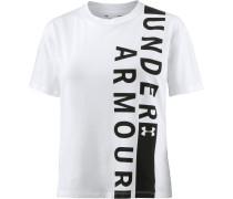 Fashion T-Shirt Damen, white-black