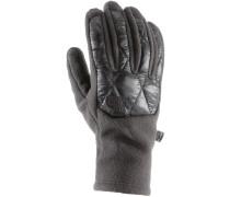 Thermoball Etip Fleece Handschuhe Damen, schwarz