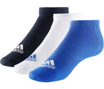 Sneakersocken Kinder, royal/weiß/navy