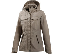 Lomma Outdoorjacke Damen, beige