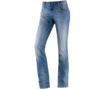 Rea Straight Fit Jeans Damen, blau