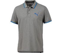 Sports Poloshirt Herren, grau
