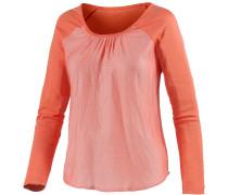 Langarmshirt Damen, orange