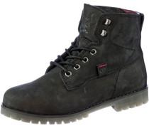 003 W Stiefel Damen, schwarz