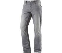 Slim Fit Jeans Herren, Grau