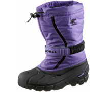 Flurry Winterschuhe Kinder, Paisley Purple, Black