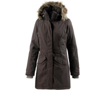 Taline Parka Damen, dark brown