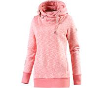 Beat Sweatshirt Damen, rosa melange