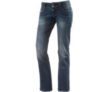 GretaTZ Bootcut Jeans Damen, blau