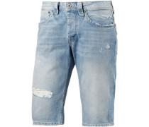 Cash Jeansshorts Herren, blau