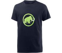 Logo T-Shirt Herren, marine-sprout