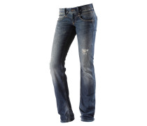 Robin Straight Fit Jeans Damen, blau