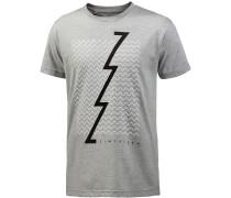 TSM Zoned T-Shirt Herren, grau