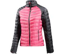 Zenon Track Daunenjacke Damen, rosa
