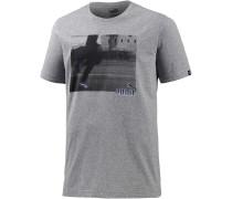 Sneaker Photo T-Shirt Herren, grau