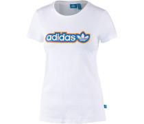 T-Shirt Damen, weiß