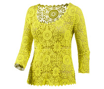 Langarmshirt Damen, gelb