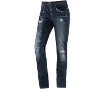 Arc 3D BTN Low Boyfriend Boyfriend Jeans Damen, dark used denim