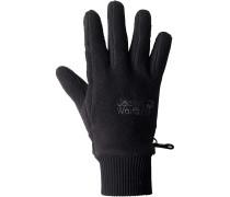 VERTIGO GLOVE Fleece Handschuhe, schwarz