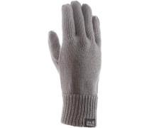 Milton Fingerhandschuhe, grau
