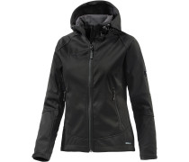 Ortler Advanced Softshelljacke Damen, schwarz