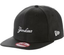 Wool MLB Wordmark NYY Cap, schwarz