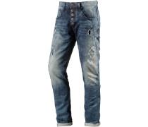 Wesley Anti Fit Jeans Herren, blau