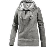 Sweatshirt Damen, grau washed