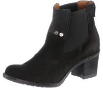 DEBUT Chelsea Boots Damen, schwarz