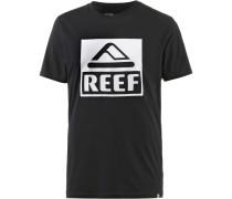 BIG Printshirt Herren, BLACK