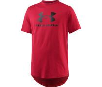 HeatGear Sportstyle T-Shirt Herren, rot
