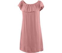 Kurzarmkleid Damen, rosa