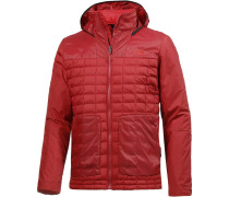 ThermoBall FZ Zip-In Kunstfaserjacke Herren, cardinal red