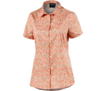 Sonora Millefleur Funktionsbluse Damen, papaya/allover