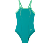 Badeanzug Mädchen, grün