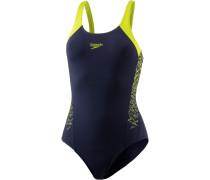 Boom Schwimmanzug Damen, navy/lime punch