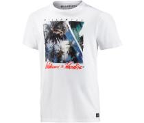 Future Paradise T-Shirt Herren, weiß