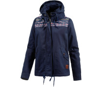 Winter Jacke Damen, blau