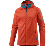 Defined Plus Fleecejacke Herren, orange