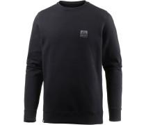 Crew Sweatshirt Herren, BLACK