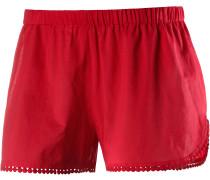 Bahama Shorts Damen, rot
